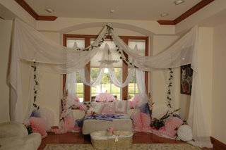 Cheap Party Decorations from PartyCheap.com: Pink and Blue Baby Shower