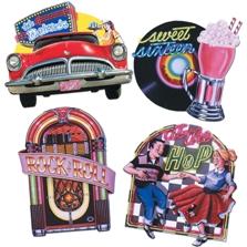 1950s Sock Hop Decorations - OmahDesigns.NET