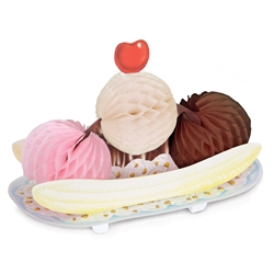 Tissue Ice Cream Sundae