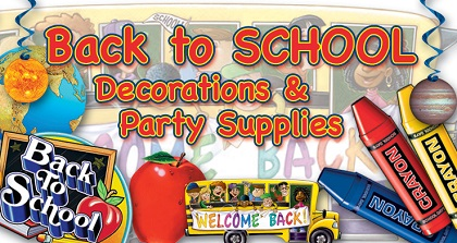 Princess party supplies decorations partycheap auto for Back to school decoration ideas