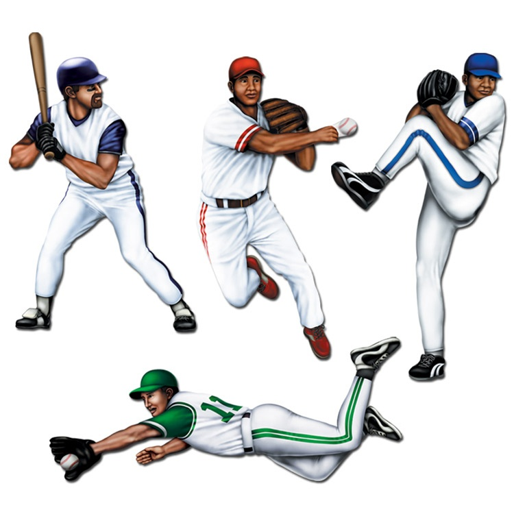 Beautiful Cut Out Baseball Player 750 x 750 · 104 kB · jpeg