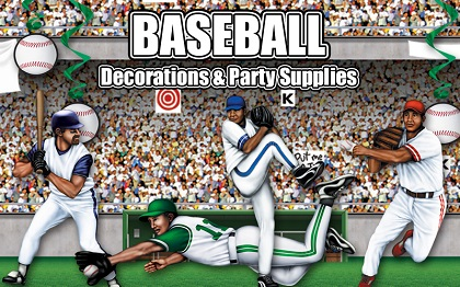 Baseball Party Supplies & Decorations