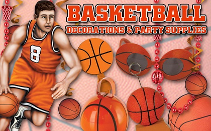 Basketball Party Supplies & Decorations