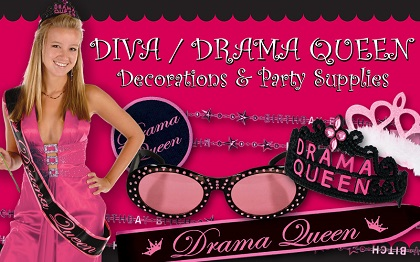 Birthday Diva Party Supplies & Decorations