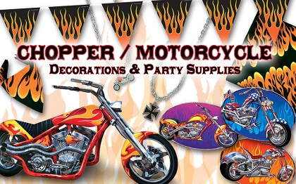 Motorcycle Party Supplies & Decorations