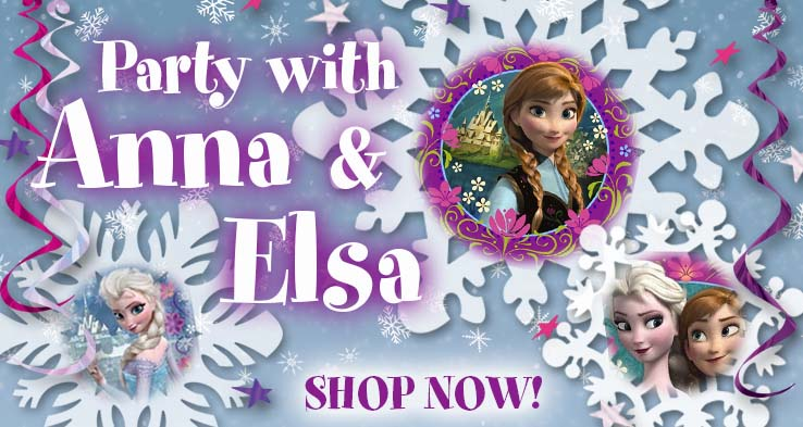 Frozen Party Decorations & Supplies