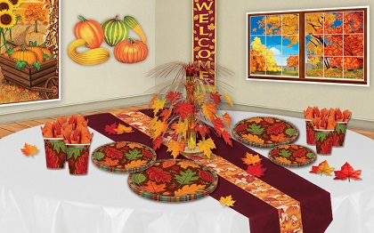 Fall Decorations and Party Supplies