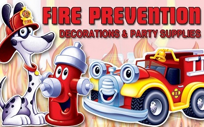 Fireman Party Decorations & Party Supplies