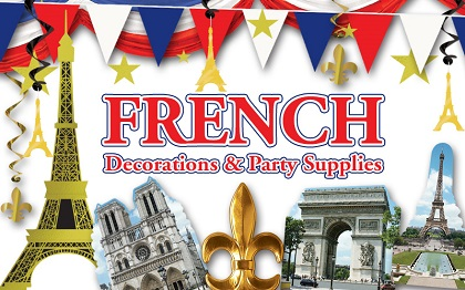 French Decorations & Party Supplies