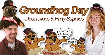 Groundhog Day Party Supplies & Decorations