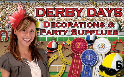 Horse Racing & Derby Day Decorations