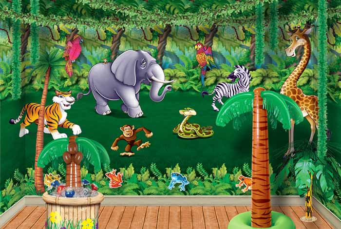 Jungle Animal Character Bean Bag Toss Game  Oriental Trading