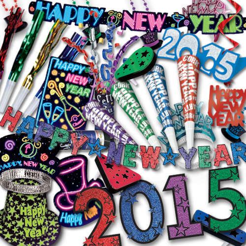 2015 New Years Eve Decorations