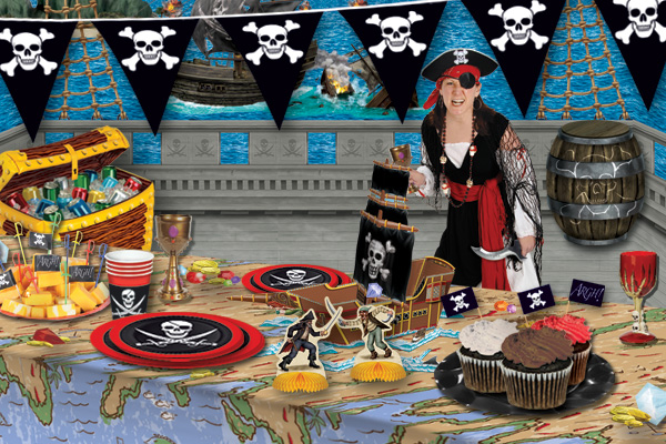 So You Want To Have A Pirate Birthday Party Table Decorations