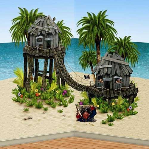 Pirate Hideaway Prop