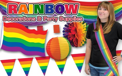 Rainbow Party Supplies & Decorations