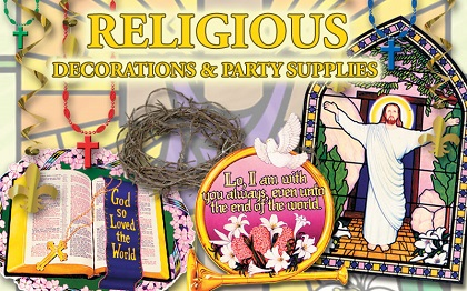 Religious Party Supplies & Decorations