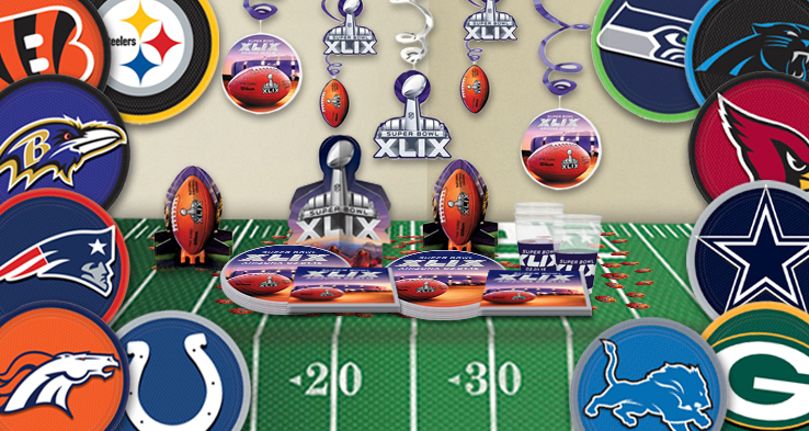 2015 Super Bowl Party Supplies