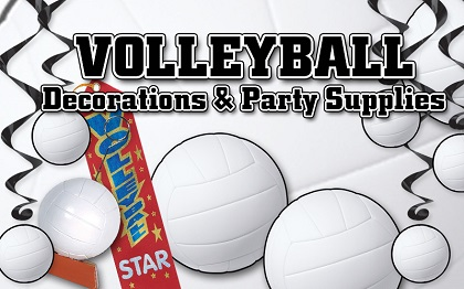 Volleyball Decorations & Party Supplies