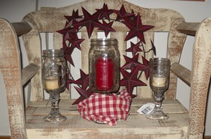 Redneck Wineglass Centerpiece