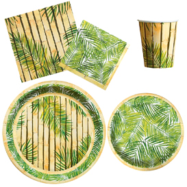 Bamboo Tableware Pattern