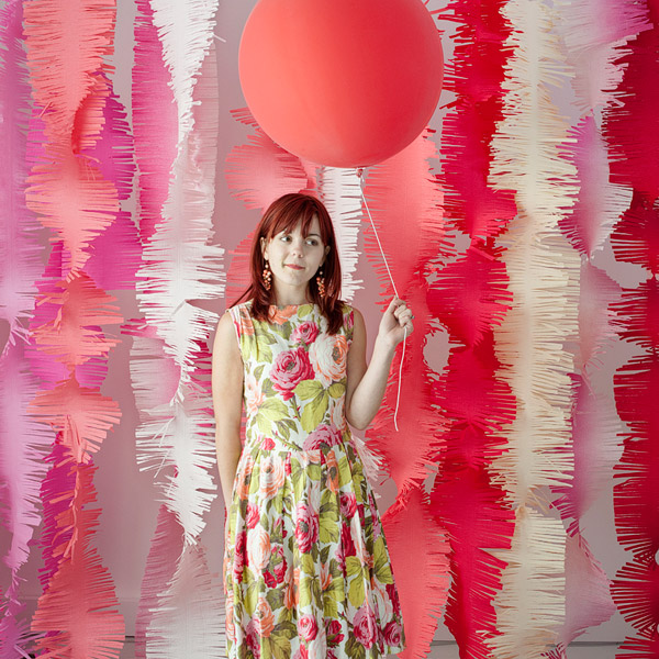 Oh Happy Day - Crepe Paper Fringe Backdrop