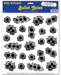 Bullet Hole Stickers