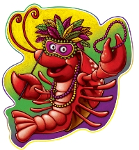 Crawfish Decorations