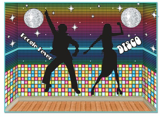 70 39 s disco insta theme disco backdrops props partycheap for 70 s decoration ideas