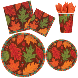 Falling Foliage Tableware