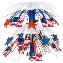 Flag Cascade Centerpiece