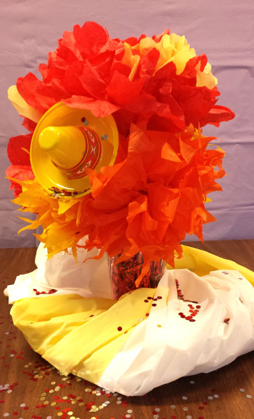 How to make mexican tissue paper flowers partycheap mexican tissue flower mightylinksfo