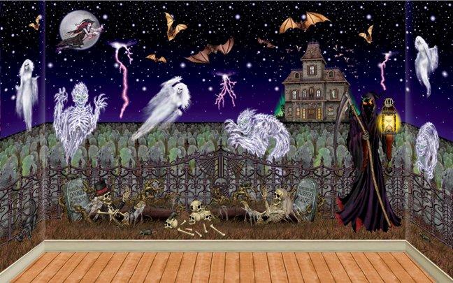 Spooky Halloween Murals The HomeSource