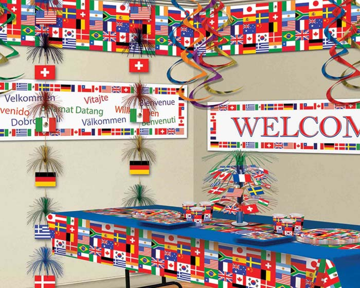 Cheer on your team this world cup season partycheap for International party decor
