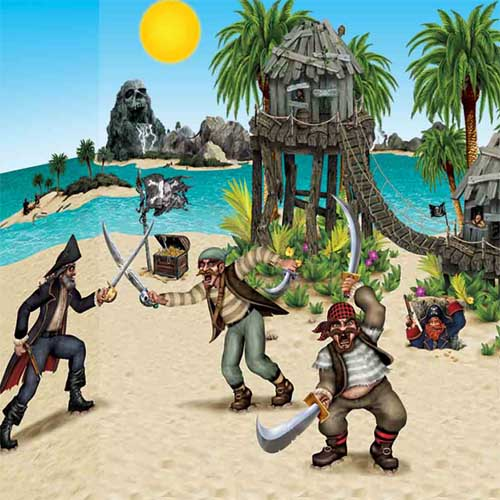 Dueling Pirate Bandit Party Decorations