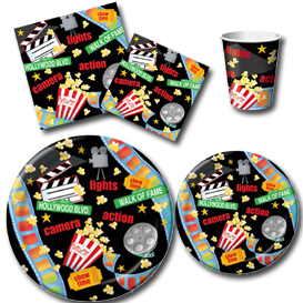Movie Night Tableware Pattern