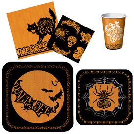 Halloween Silhouette Party Pattern