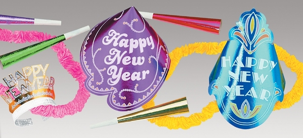 Small New Years Party Kit