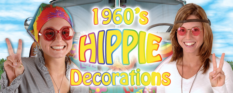 Image gallery hippie party for 60s decoration ideas party