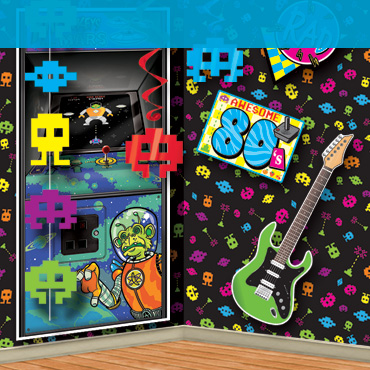 80s arcade party supplies decorations partycheap for 80 party decoration ideas