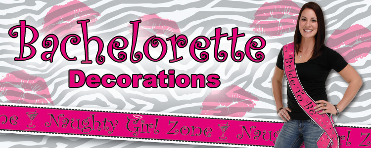 Bachelorette Party Supplies & Decorations