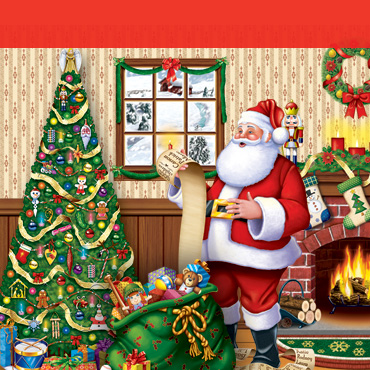 Christmas Indoor Backdrops, Backgrounds & Props
