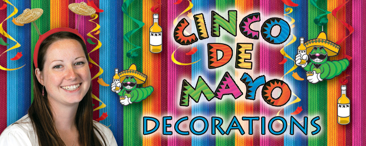 Cinco de Mayo decorations and party supplies