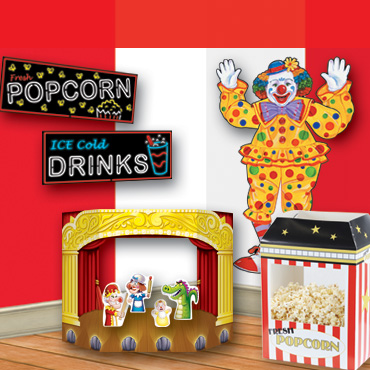 Circus Backdrops, Backgrounds & Props