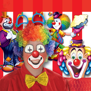 Circus Clown Party Supplies