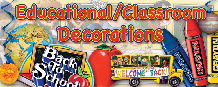 Classroom Decorations & Party Supplies