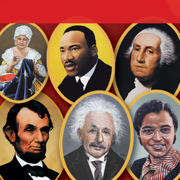 Presidents and Famous Faces in History