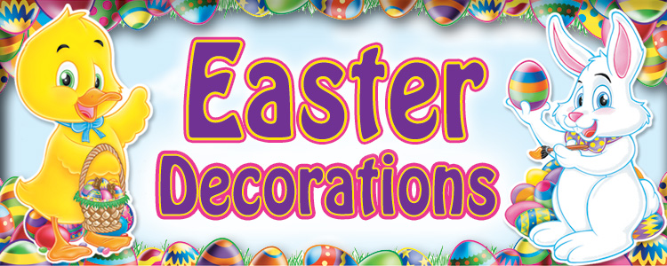 Easter Decorations and Party Supplies