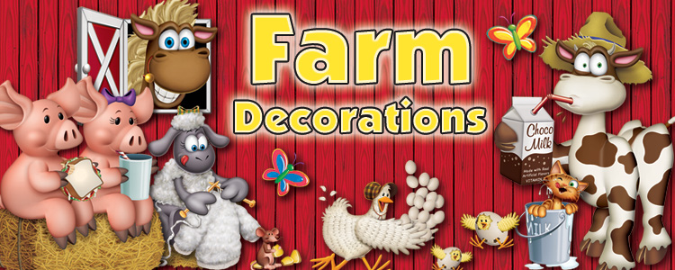Farm Party Supplies & Decorations