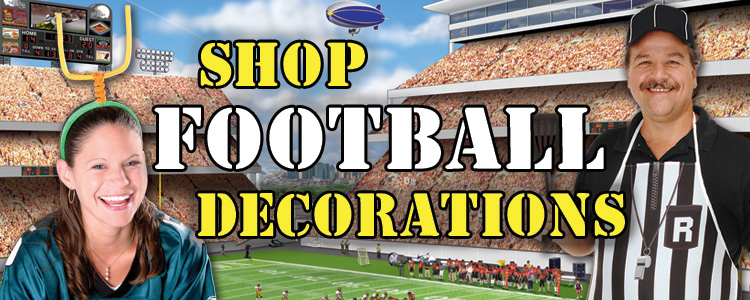 Football Party Decorations and Party Supplies